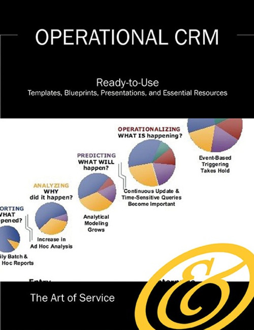 The Operational CRM Toolkit