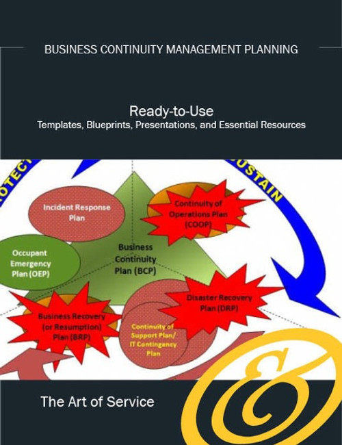 The Business Continuity Management Planning Toolkit