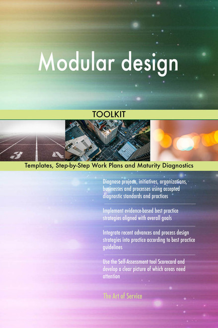 Modular design Toolkit: best-practice templates, step-by-step work plans and maturity diagnostics