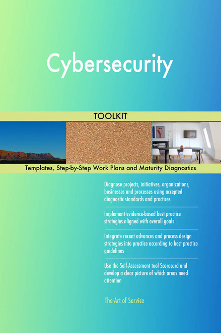 Cybersecurity Toolkit: best-practice templates, step-by-step work plans and maturity diagnostics