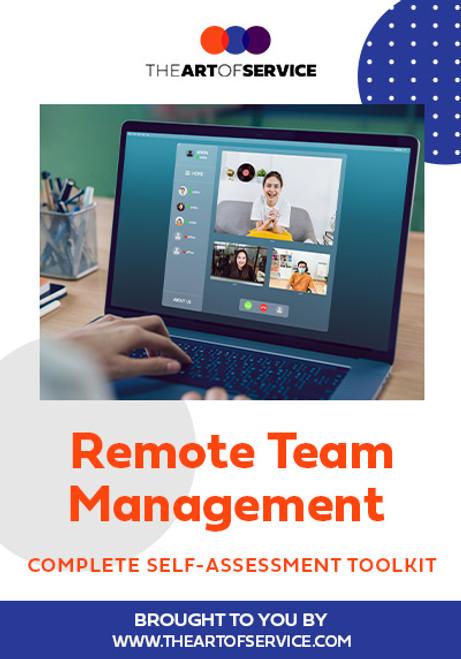 Remote Team Management Toolkit