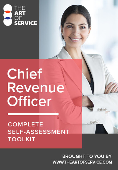 Chief Revenue Officer Toolkit