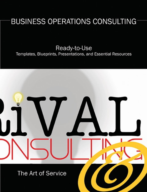 The Business Operations Consulting Toolkit