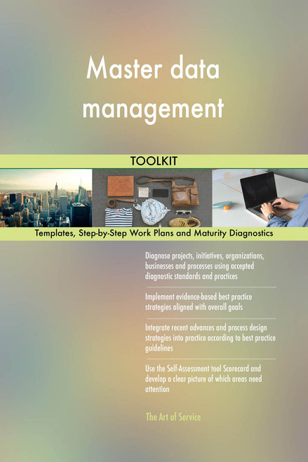 Master data management Toolkit: best-practice templates, step-by-step work plans and maturity diagnostics