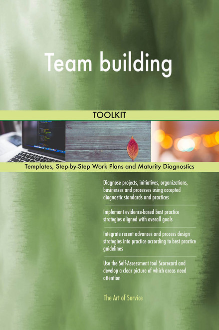 Team building Toolkit: best-practice templates, step-by-step work plans and maturity diagnostics