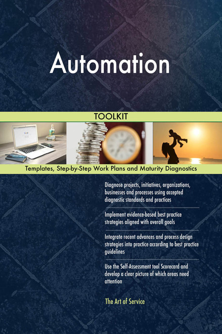 Automation Toolkit: best-practice templates, step-by-step work plans and maturity diagnostics