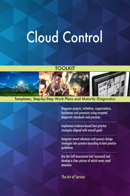 Cloud Control Toolkit: best-practice templates, step-by-step work plans and maturity diagnostics