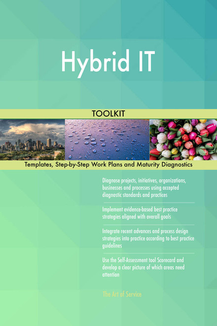 Hybrid IT Toolkit: best-practice templates, step-by-step work plans and maturity diagnostics