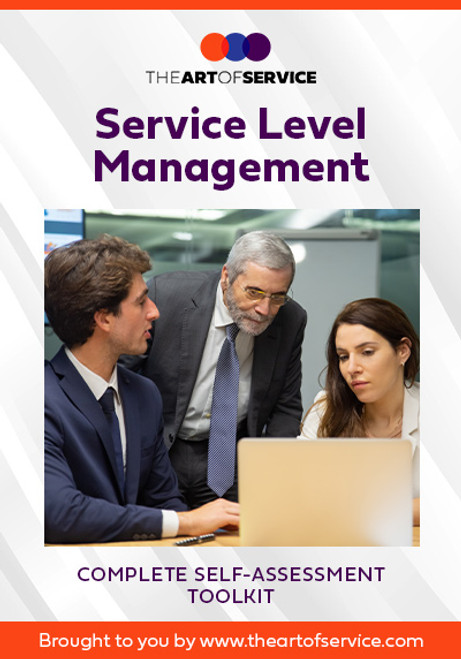 Service Level Management Toolkit