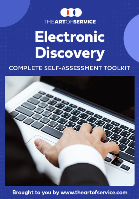 Electronic Discovery Toolkit