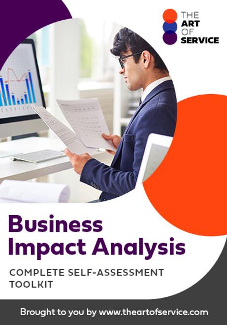 Business Impact Analysis Toolkit