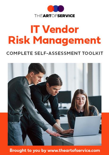 IT Vendor Risk Management Toolkit