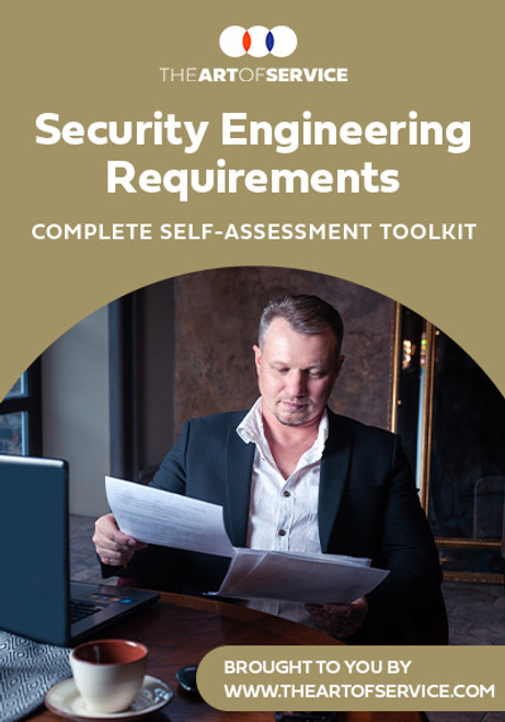 Security Engineering Requirements Toolkit