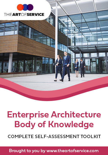 Enterprise Architecture Body Of Knowledge Toolkit