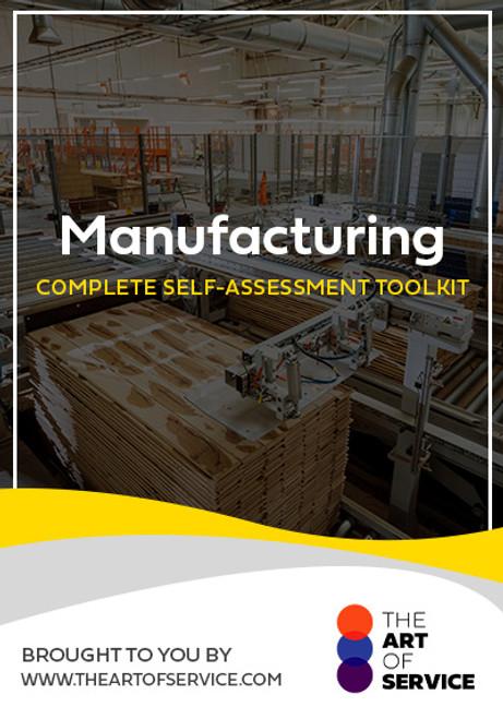 Manufacturing Toolkit