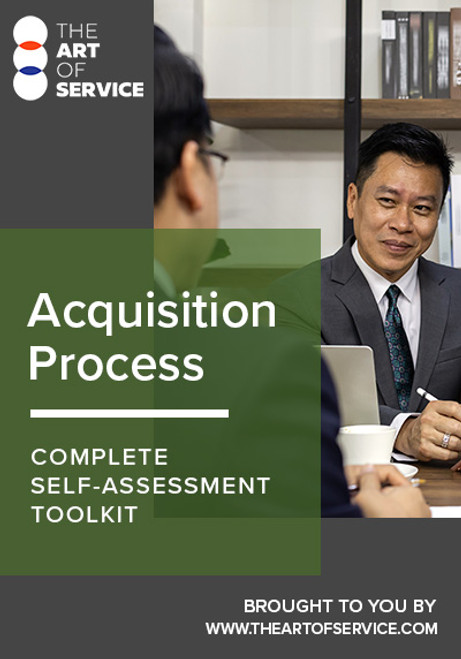 Acquisition Process Toolkit