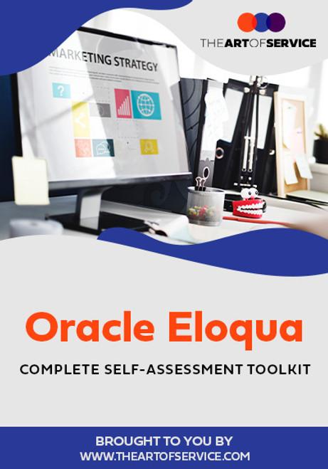 Oracle Eloqua Toolkit