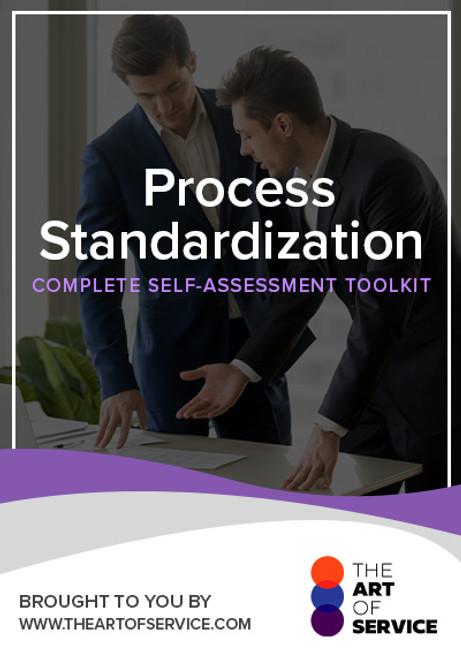 Process Standardization Toolkit