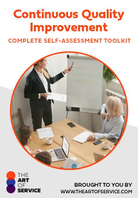 Continuous Quality Improvement Toolkit