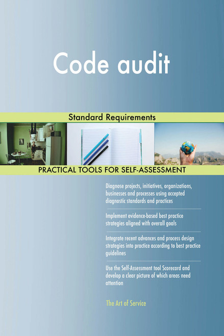 Code audit Standard Requirements