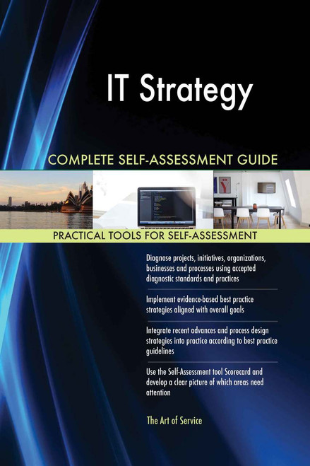 IT Strategy Complete Self-Assessment