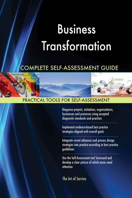 Business Transformation Complete Self-Assessment