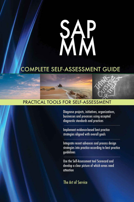 SAP MM Complete Self-Assessment