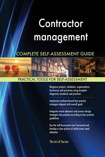 Contractor management Complete Self-Assessment