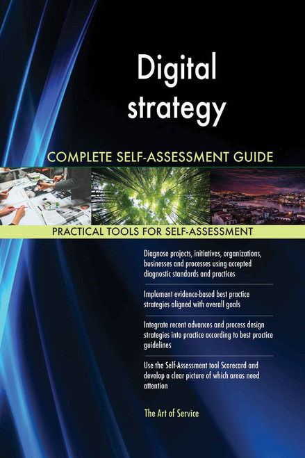 Digital strategy Complete Self-Assessment