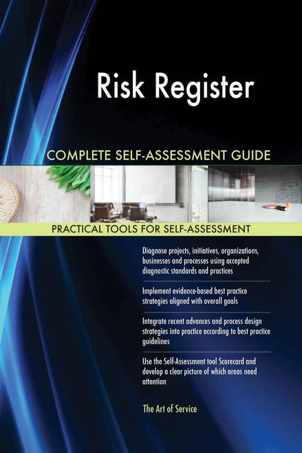 Risk Register Complete Self-Assessment