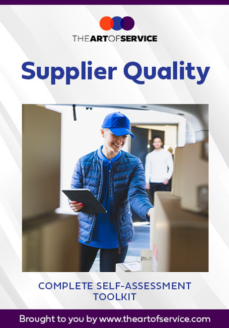 Supplier Quality Toolkit