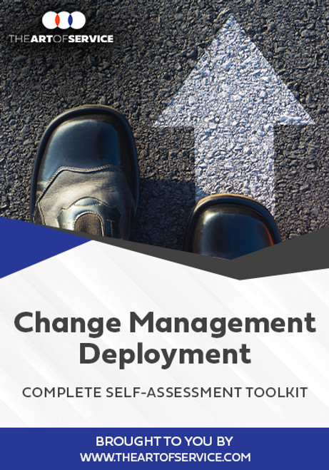 Change Management Deployment Toolkit