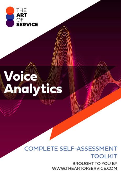 Voice Analytics Toolkit