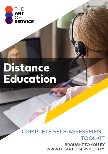 Distance Education Toolkit