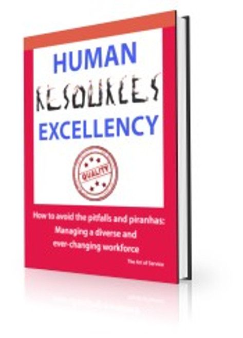 Human Resources Excellency - How to avoid the Pitfalls and Piranhas (P2)