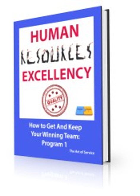 Human Resources Excellency - How to Get and Keep Your Winning Team (P1)