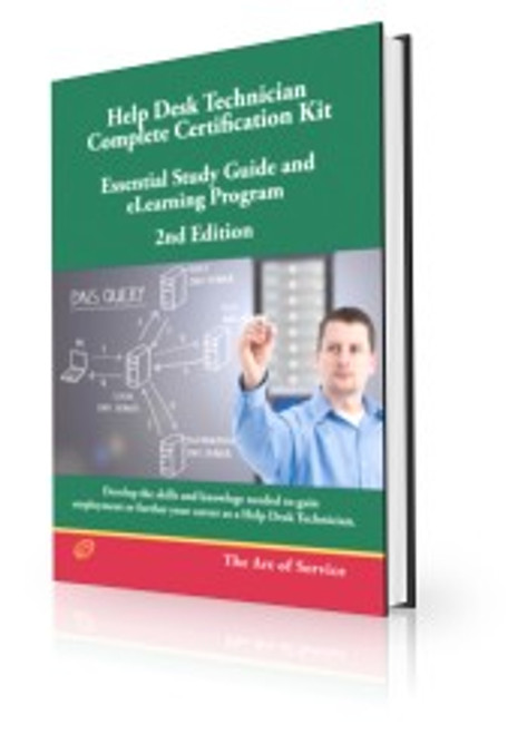 Help Desk Technician - Complete Certification Kit Book  - Second Edition - Essential Study Guide and eLearning Program, Second Edition