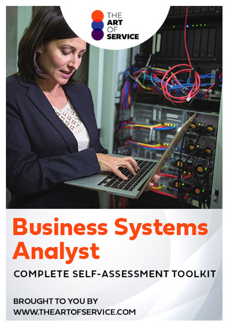 Business Systems Analyst Toolkit