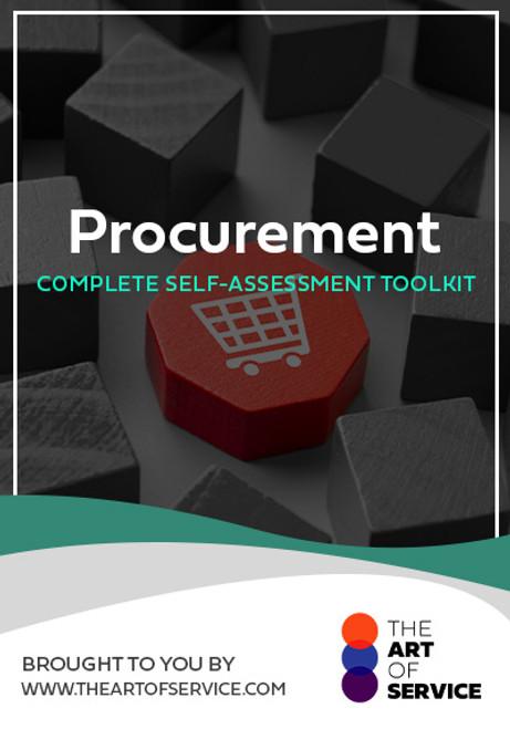 Procurement Toolkit