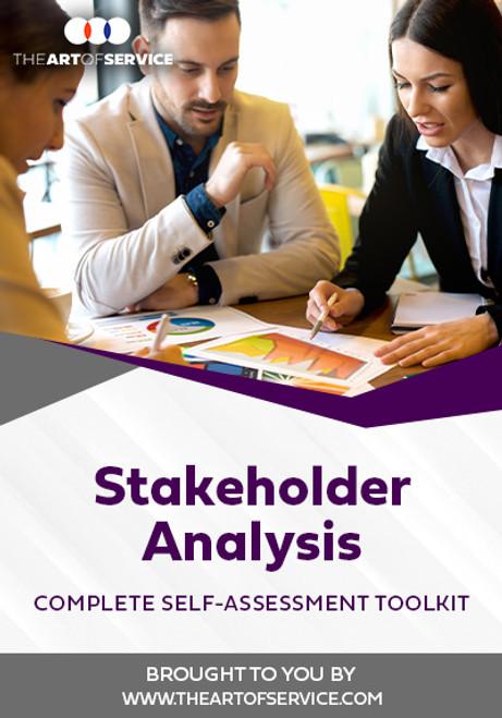 Stakeholder Analysis Toolkit