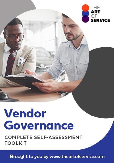Vendor Governance Toolkit