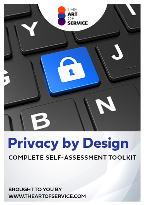 Privacy by Design Toolkit