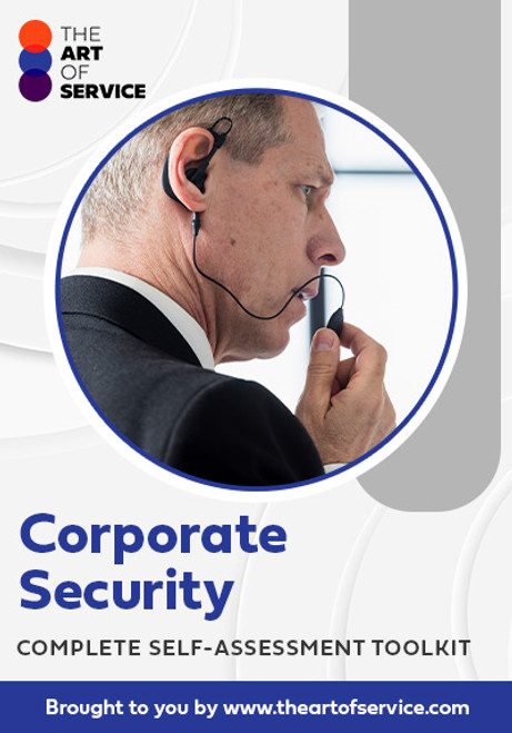Corporate Security Toolkit