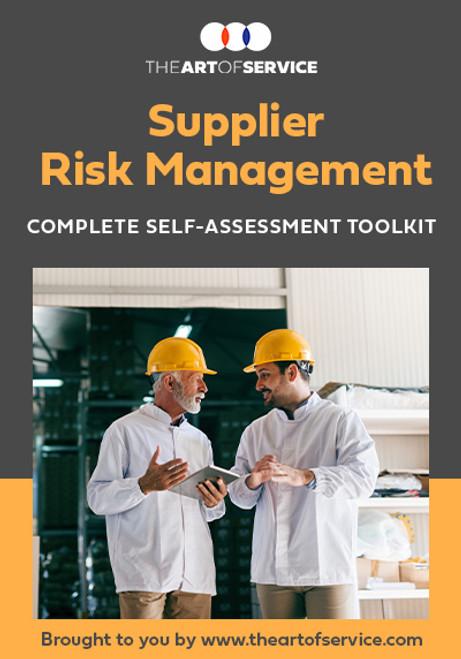 Supplier Risk Management Toolkit