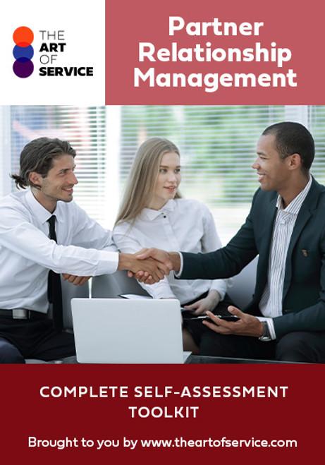 Partner Relationship Management Toolkit