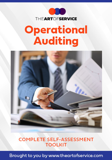 Operational Auditing Toolkit