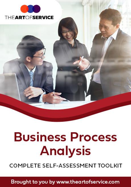 Business Process Analysis Toolkit