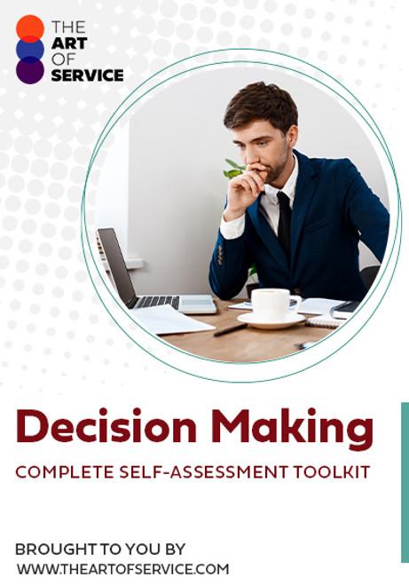 Decision Making Toolkit