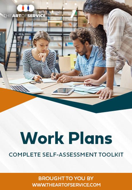Work Plans Toolkit