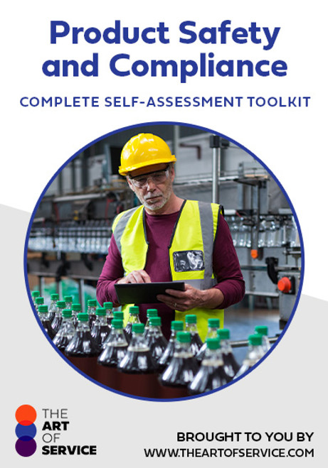 Product Safety and Compliance Toolkit